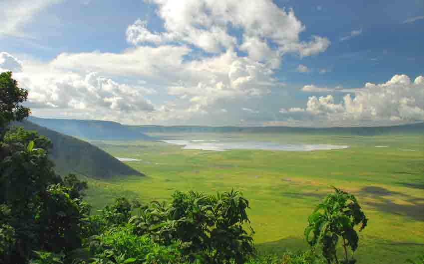 The Ngorongoro Crater Conservation Area