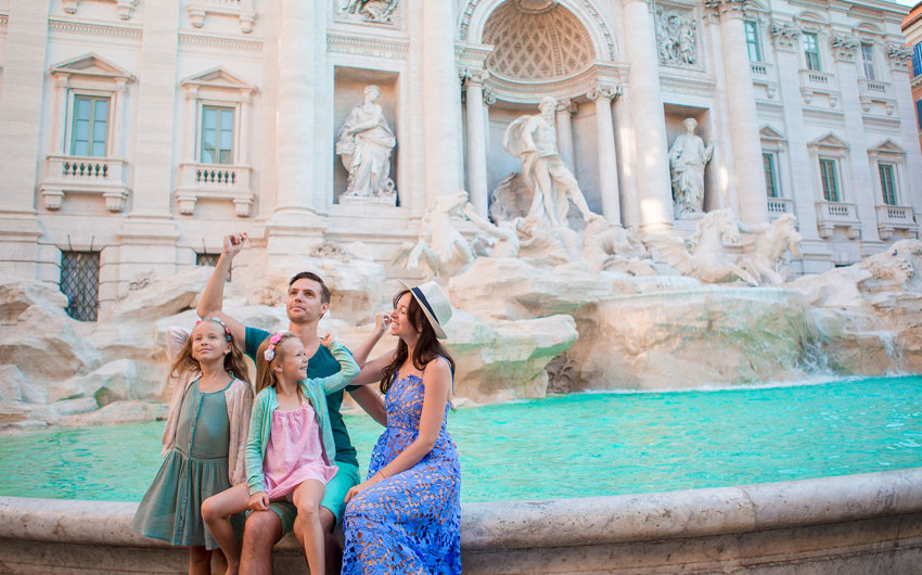 FAMILY FUN IN ROME