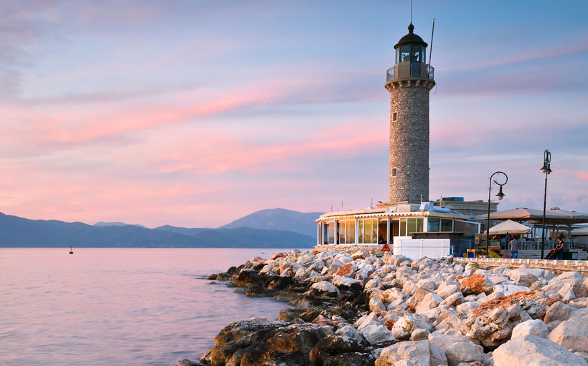 Lighthouse in Patras