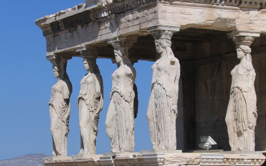 Erechtheion temple, Athens
