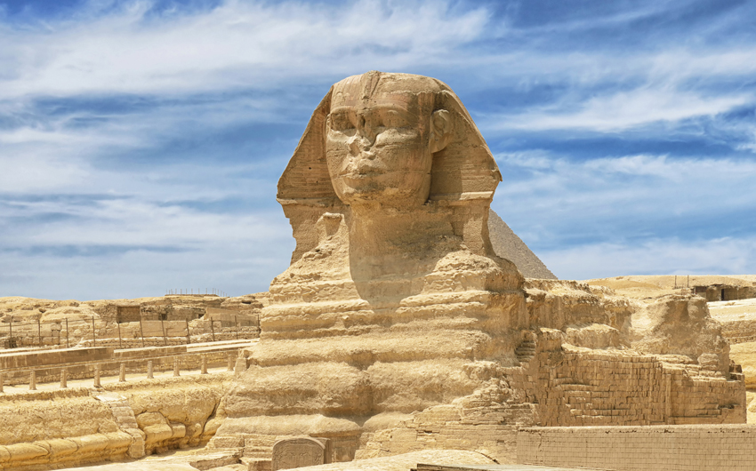 Sphinx in Cairo