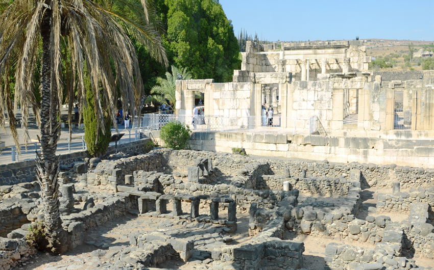 The ruins of Capernaum
