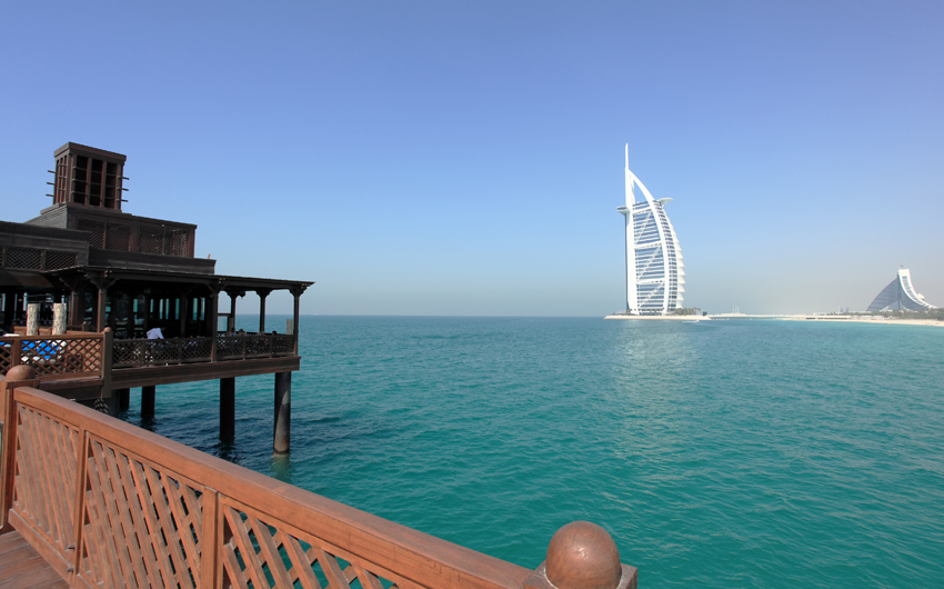 Jumeirah Resort and Burj Al Arab