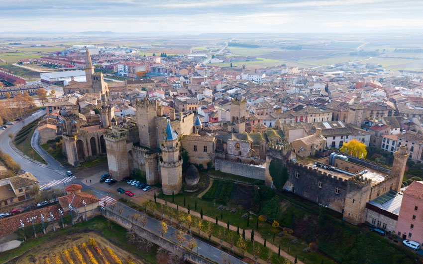 CASTLES & PALACES OF THE SPANISH WINE REGION