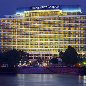 The Nile Ritz Carlton in Cairo, Egypt