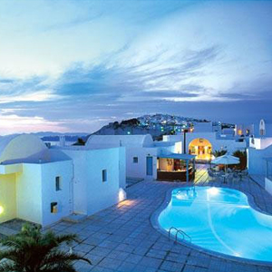 El Greco Hotel in Santorini, Greece