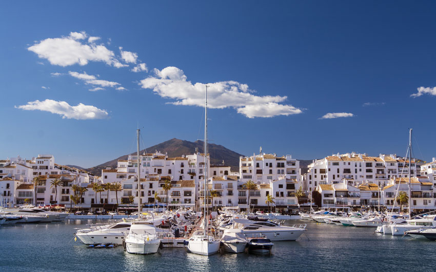 Puerto Banus Harbor, Spain