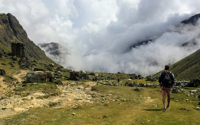 TREKKING THE SALKANTAY SUN TRAIL