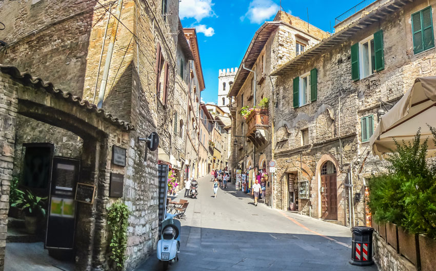 Ancient town of Assisi