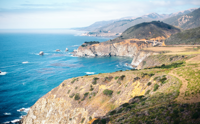 California's coastal journey