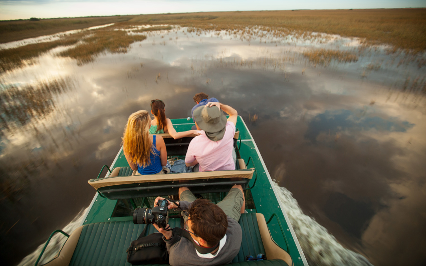 Airboat Ride at Everglages National Park