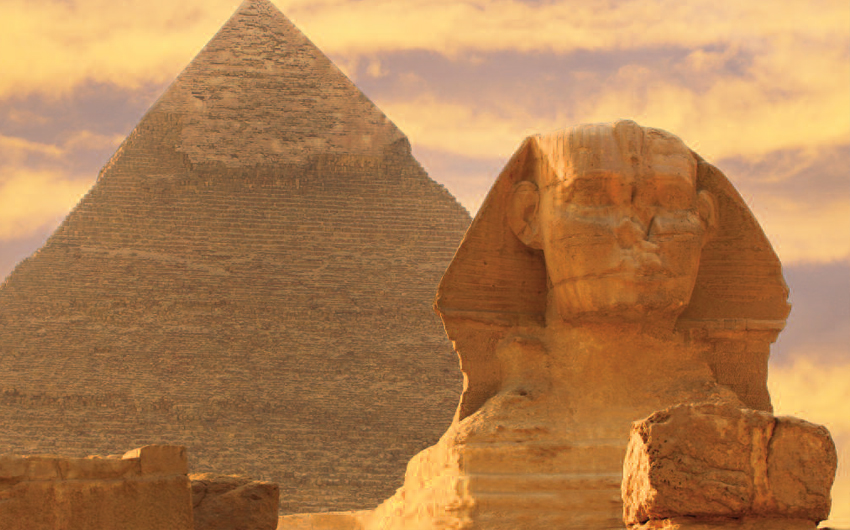 Giza Pyramid and Sphinx