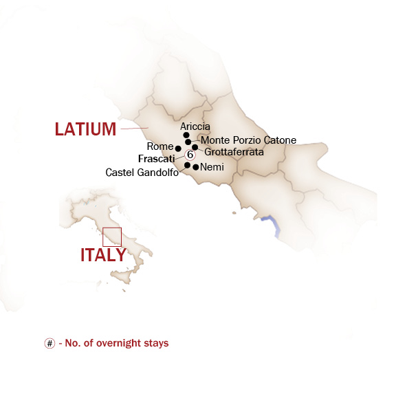 Italy Map  for THE TRADITIONS AND FLAVORS OF ROMAN CUISINE
