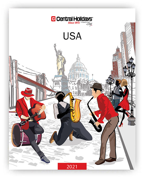 Central Holidays USA Brochure