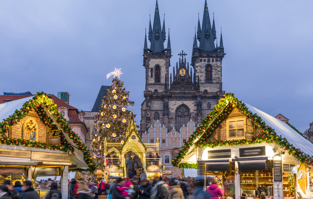 Celebrate Europe's Festive Christmas Markets