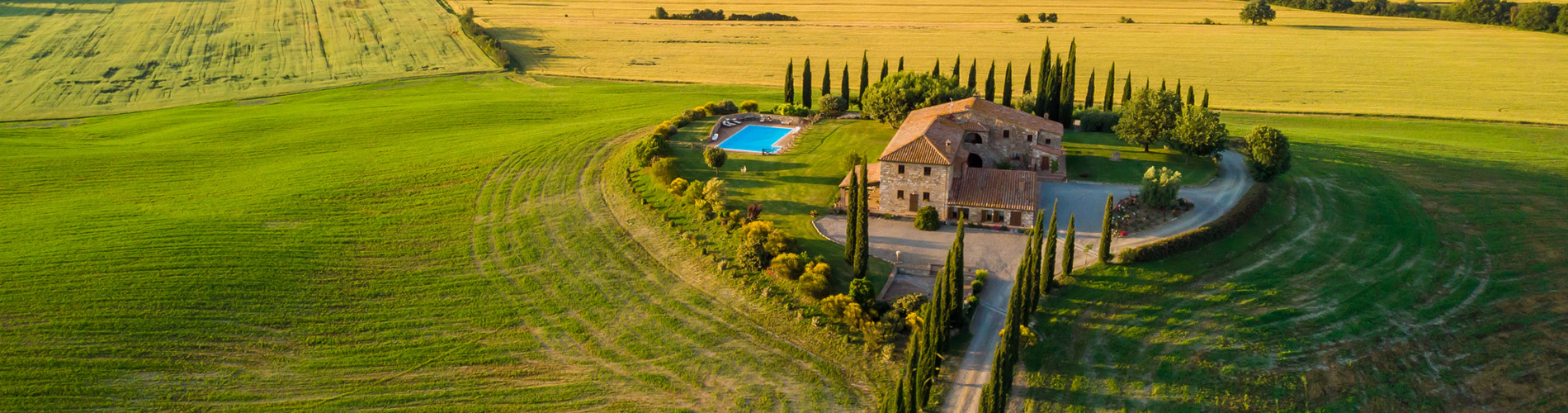 Rent a villa or farmhouse this summer…