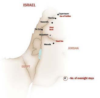 Israel Map  for ISRAEL EXTENSION