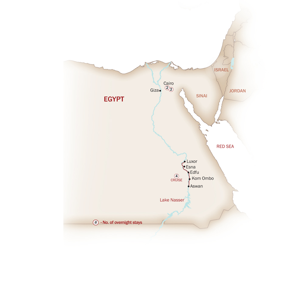 Egypt Map  for EGYPT PANORAMA