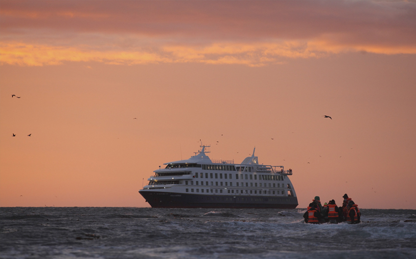 ADVENTURES AT THE END OF THE WORLD WITH AUSTRALIS CRUISES