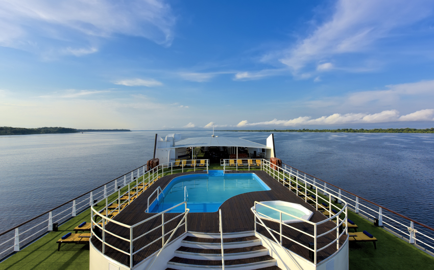 Iberostar Grand Amazon Cruise pool
