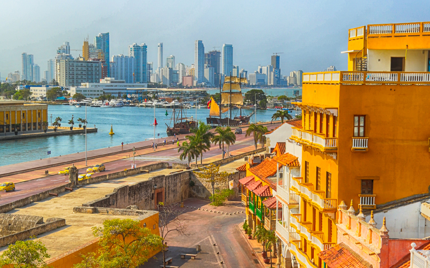 Cartagena is the fifth largest city in Colombia