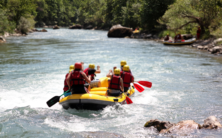 Pacuare River white water rafting experience