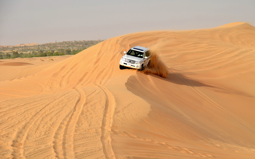 4 x 4 desert safari tour