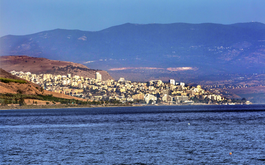 Sea of Galilee, Tiberias