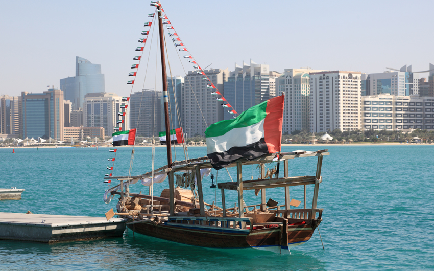 Traditional Dhow in Abu Dhabi
