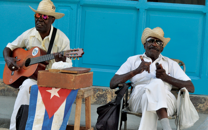 Local cuban musicians