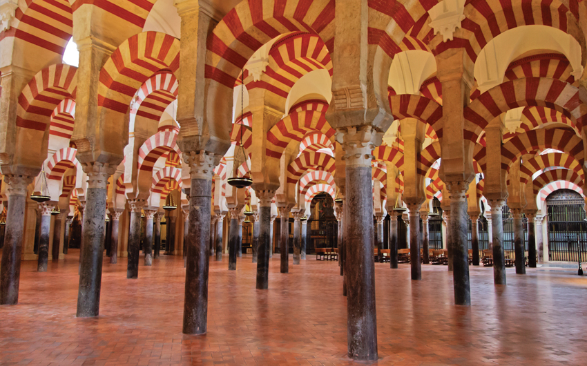 The great Mosque in Cordoba