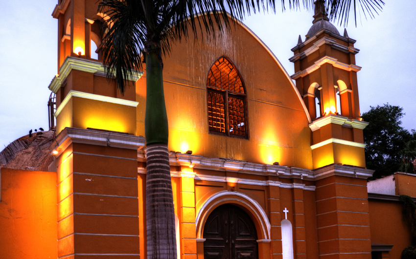 Church in Barranco District of Lima