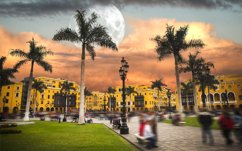 Lima the capital of the Republic of Peru