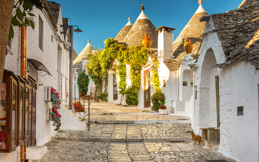PUGLIA, THE LAND OF SUN, FOOD & TRULLI