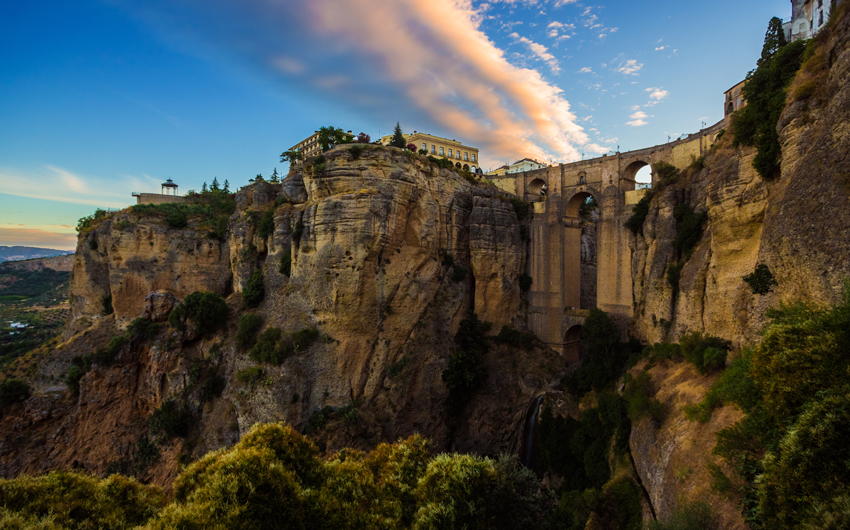 Famous Archway in Ronda