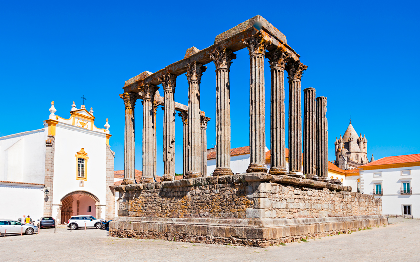 The Roman Temple of Evora