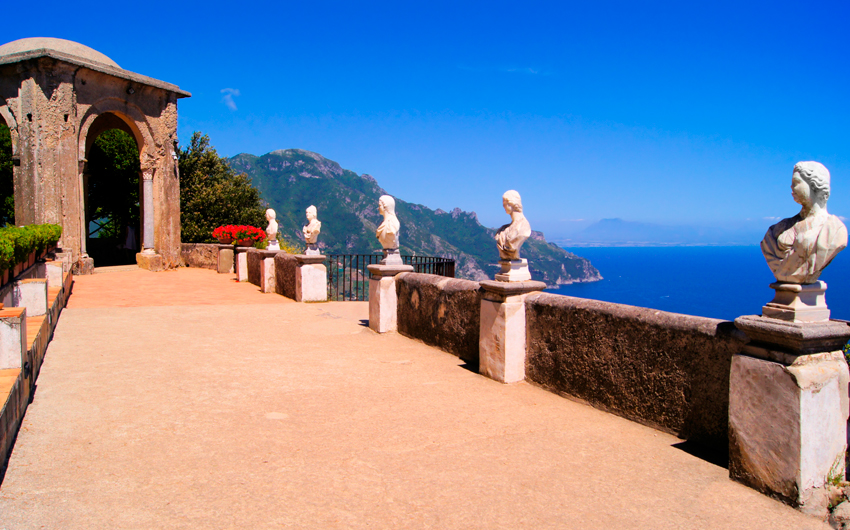 Villa along the Amalfi Coast
