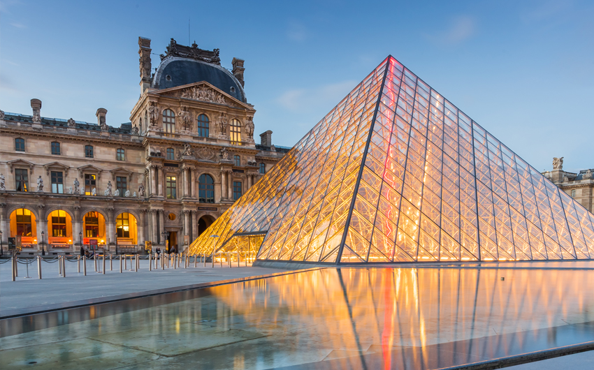 The Louvre Museum is one of the world's largest museums