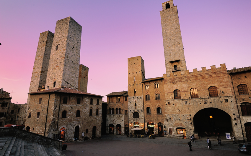 Medieval architecture, San Gimignano