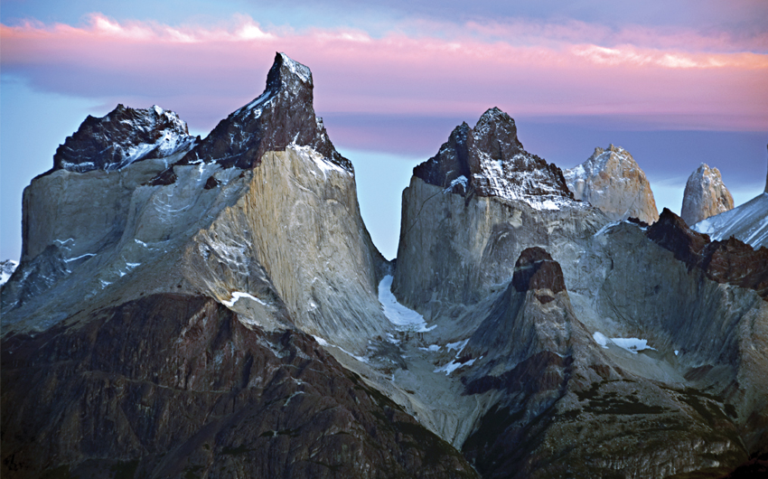Torres del Paine Mountains, Patagonia Chile